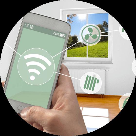 Mit SmartHome Produkten den Haushalt per App steuern